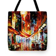 Brussels - Before The Night Starts Tote Bag