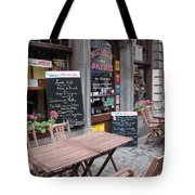Brussels - Restaurant Chez Patrick Tote Bag by Carol Groenen