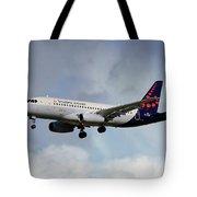Brussels Airlines Sukhoi Superjet 100-95b Tote Bag