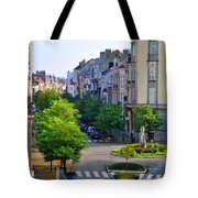 Brussels Row Tote Bag