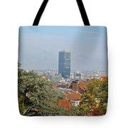 Brussels View Tote Bag