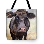 Brutus - Black Angus Cattle Tote Bag