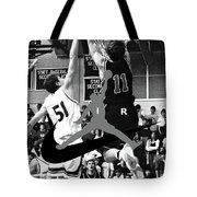 Bryan Nelson Goes Michael Air Jordan, A Shawnee Mission East High School Legend Tote Bag