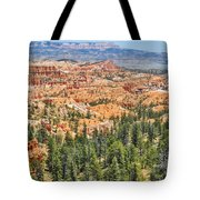 Bryce Canyon Fairyland Vista Point Tote Bag