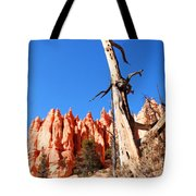 Bryce Canyon Lonely Tree Tote Bag