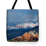 Bryce Canyon Snowstorm Tote Bag