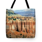 Bryce Canyon Vertical Hoodoos Tote Bag
