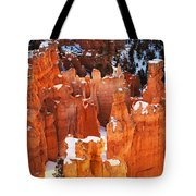 Bryce Canyon Winter 1 Tote Bag