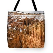 Bryce Canyon Winter Panorama - Bryce Canyon National Park - Utah Tote Bag