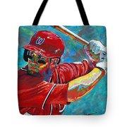 Bryce Harper Tote Bag