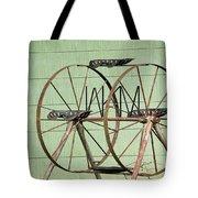 Bubbas  Fairs Wheel Tote Bag