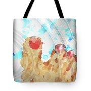 Bubble Bath - Sharon Cummings Tote Bag