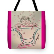 Bubble Bath Time Tote Bag