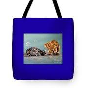 Bubble Cats Tote Bag