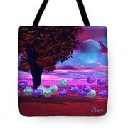 Bubble Garden Tote Bag