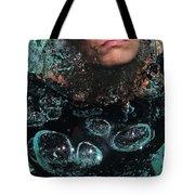 Bubble Maker. Lady Diver Tote Bag