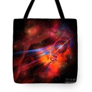 Bubble Nebula Tote Bag