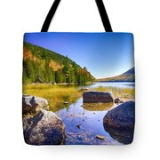 Bubble Pond, Acadia Tote Bag