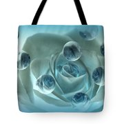 Bubble Rose Tote Bag