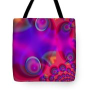 Bubble Trails Tote Bag