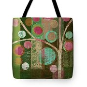 Bubble Tree - 85lc16-j678888 Tote Bag