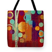 Bubble Tree - 85rc13-j678888 Tote Bag