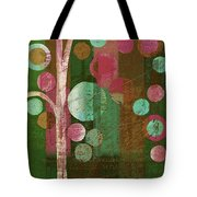 Bubble Tree - 85rc16-j678888 Tote Bag