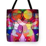 Bubbleclub Portrait Tote Bag