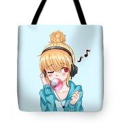 Bubblegum Girl Tote Bag