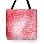 Bubblegum Knit Tote Bag
