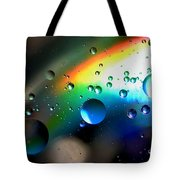 Bubbles Abstract Tote Bag