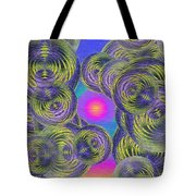 Bubbles In The Mist Tote Bag