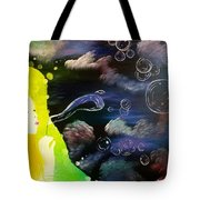 Bubbles Of Life Tote Bag