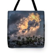 Bubbling Clouds Tote Bag