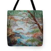 Bubbling Falls Tote Bag