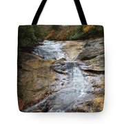 Bubbling Spring Branch Cascades Tote Bag
