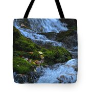 Bubbling Waterfall Tote Bag