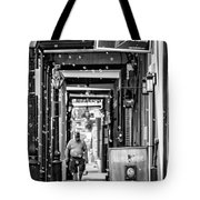 Bubbly French Quarter - Bw Tote Bag