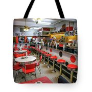 Buchanan Fountain And Grille  Tote Bag