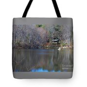 Buck Lodge Tote Bag