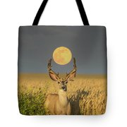 Buck Moon  Tote Bag