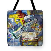 Buck Rogers And Animal Crackers Tote Bag