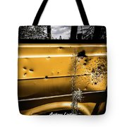 Buck Shot Old Van Tote Bag