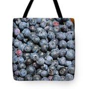 Bucket Of Blueberries Tote Bag