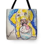 Buckett List For Dogs Tote Bag