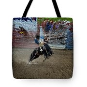 Bucking Bronco Tote Bag
