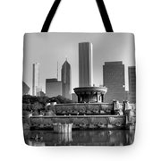 Buckingham Fountain - 2 Tote Bag