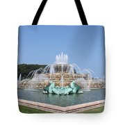 Buckingham Fountain Tote Bag