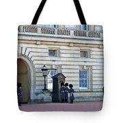 Buckingham Palace Guards Tote Bag