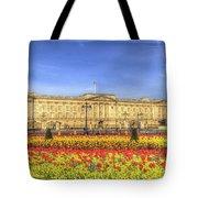 Buckingham Palace London Panorama Tote Bag